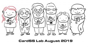 CardSS Lab Cartoon for August 2019 by Kelly Zhang